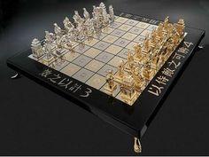 WEB LUXO - Produtos de luxo: Tabuleiro de Xadrez tem ouro, diamantes e pedras preciosas