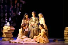 Dress rehearsal for 'Little Women: The Broadway Musical' © Royal Academy of Music, June 2014