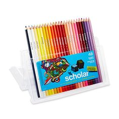 Prismacolor Scholar Colored Pencils, Set of 48 Assorted Colors (92807) Prismacolor http://www.amazon.com/dp/B000J07PAE/ref=cm_sw_r_pi_dp_SThxvb1VMFEYF