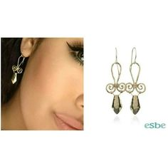 A woman can never have too many pairs of earrings. Aristaeus earrings are the perfect pair for everywhere you go! Try them on at your next eSBe event! http://www.esbedesigns.com/Lindac  #itseSBe #eSBeDesigns #earrings