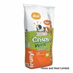 Versele Laga Crispy Muesli Guinea Pig Food Versele Laga Crispy Muesli Guinea Pigs is a complete feed for these fibre loving rodents. The gourmet mixture includes a wide variety of vegetable pieces & flakes as well as hay stems that provide a complet Guinea Pig Food, Guinea Pigs, Guinea Pig Supplies, Dried Vegetables, Snack Recipes, Snacks, Rodents, Amino Acids, Nutrition