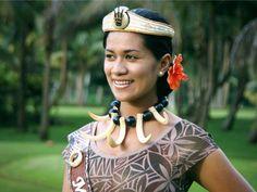 Samoan beauty  Jacinta Bourne