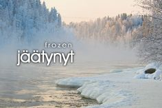 Language Study, Language Lessons, Learn Finnish, Finnish Words, Finnish Language, Bucket List Destinations, Winter Beauty, Teaching Music, Foreign Languages