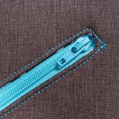 4 Freizeiten: Probegenäht: Herrentasche Bjarne von Frau Fadenschein - Reißverschluss, Umhängetasche aus Softshell