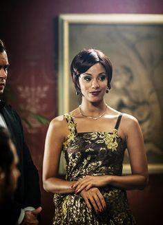Naomi Ryan in 'Mr. Selfridge' (2013). x