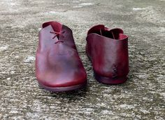 Handmade leather shoes. Nutsa Modebadze
