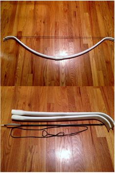 complete 50 Pound PVC Takedown Recurve Bow by Kyle Wind! -With creative credit to Nick and his YouTube channel The Backyard Bowyer