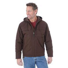 Wrangler Men's Riggs Workwear Hooded Ranger Jacket