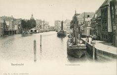 Wijnhaven Dordrecht (jaartal: Voor 1900) - Foto's SERC