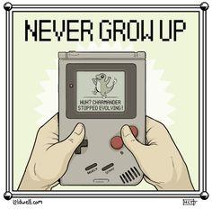 video games pokemon gameboy never grow up Top Pokemon, Play Pokemon, Pokemon Sun, Pokemon Pictures, Funny Pictures, Virgo, Dorkly Comics, Funny Happy Birthday Meme, Nerd Love
