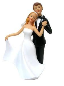 Muñecos de boda novios bailando - Invitaciones, regalos y muñecos para Bodas
