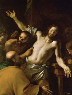 Mattia Preti, The Incredulity of St. Thomas.  Kunsthistorisches Museum, Vienna.