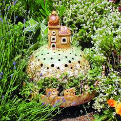 Zahrada s keramikou   Chatař & Chalupář