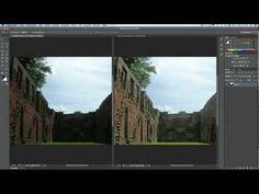 Adobe Photoshop - Bilder bzw. Bildbereiche aufhellen - YouTube