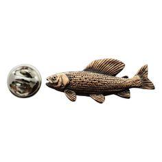 Grayling Pin ~ Antiqued Copper ~ Lapel Pin