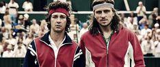 Borg McEnroe: Zwei Tennis-Legenden unter Druck