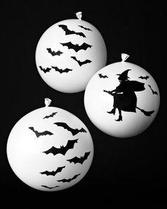 Halloween Decoupage Balloon How-To