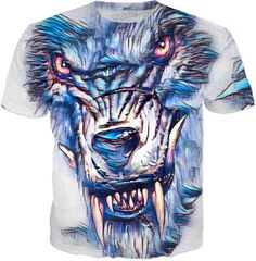 NBK The Beast Custom Fable Rave Fantasy Style Graphic Tee by Willy Badu.