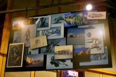 The attached store to the 3D Star Tours ride has some nice Star Wars concept art up on display.