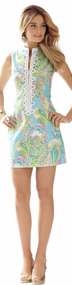 Very pretty pastel paisley summer dress