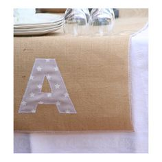 Camino de mesa saco personalizado