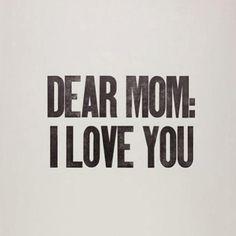 querida mama: