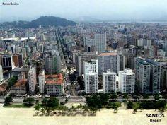 Santos Brazil San Francisco Skyline, South Africa, Costa, New York Skyline, Youtube, Travel, Quilling, Cities, Bahia