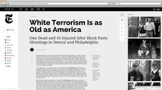 The New York Times; web design on Behance