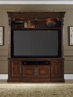 Hooker Furniture Entertainment Console U0026 Hutch 5272 70456/70556 @ Hooker  Factory Outlet