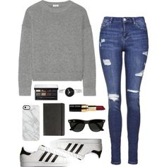 A fashion look from January 2016 featuring Issa sweaters, Topshop jeans and adidas Originals sneakers. Browse and shop related looks.