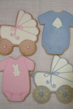 Cookies for  ~ baby shower by marci