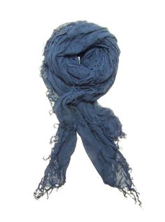 Blue Pacific Tissue Solid Cashmere & Silk Scarf in Cloudy Navy Blue tsd32   eBay