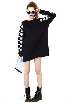 Lazy Oaf Armless Sweatshirt