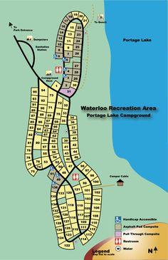 Lakeport State Park Michigan Site Map Maps Local In