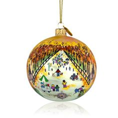 Central Park Mall ornament by Michael Storrings
