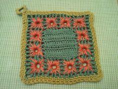 Crochet hotpad