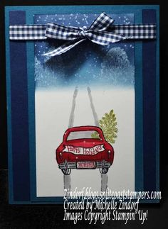 Bringing Home the Tree Card and Free Shipping Today!