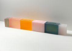 // Rachel Whiteread - Grey, Pink, Yellow, Grey - 2010