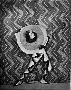 SONIA DELAUNAY    STILL PHOTO FROM THE FILM LE P'TIT PARIGOT   WRITTEN BY PAUL CARTOUX   DIRECTED BY RENÉ LE SOMPTIER   FRANCE, 1926   COLLECTION OF ANTOINE BLANCHETTE
