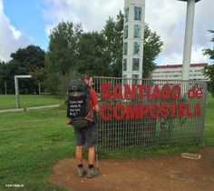 My message the last day walking to Santiago #Camino 2015 August McG - day 35