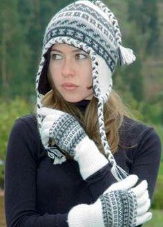 Peruvian Alpaca Chullo-Fleece Lined  30 Ear Hats 0892c5965909