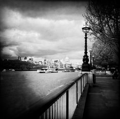 Somewhere along the River Thames.