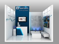 """Sanlam Exhibition Stand For COP 17 - Front View by XZIBIT`S """"EYE LOVE CANDY"""", via Flickr"""
