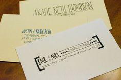 Custom Hand Addressed Envelopes
