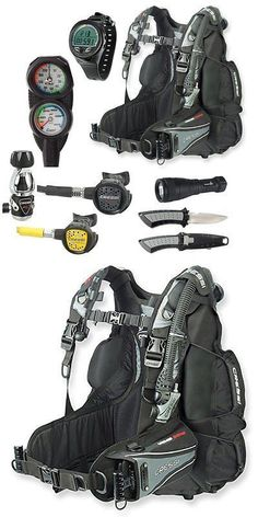 Buoyancy Compensators 16053: Cressi Air Travel Bc Scuba Gear Package, Dive Computer, Sm -> BUY IT NOW ONLY: $1286.86 on eBay! http://www.deepbluediving.org/scuba-diving-gear-for-kids/ #scubadivingequipmentwatches