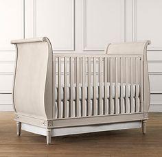 emelia sleigh crib