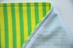 Need to get myself a double needle for sewing knit hems asap