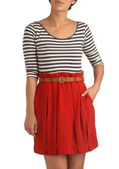shirt, belt and skirt :)
