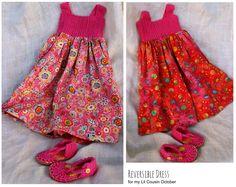 crochet reversible dress