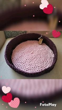 Cat caves, small dog beds in any color and several size. #sustainable #ecofriendly #recycled #catbed #dogbed Crochet Pet, Crochet Animals, Dog Beds For Small Dogs, Cat Cave, Or Mat, Recycled Yarn, T Shirt Yarn, Pet Beds, Caves